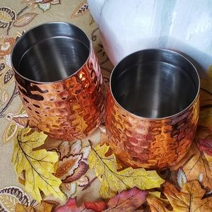 Other - NWT Copper Stemless Mugs